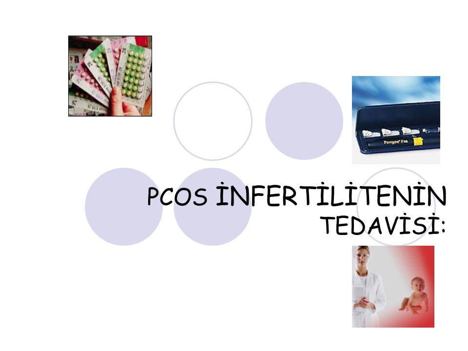 PCOS İNFERTİLİTENİN TEDAVİSİ:
