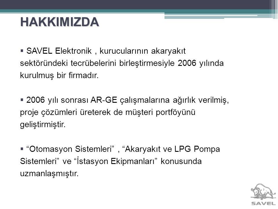 HAKKIMIZDA Ürettiği Pompa Elektronik Ekipmanları ve LPG Elektronik Ekipmanları sayesinde sektörde kısa sürede tanınmış ve ürünleri tüm Türkiyede kullanıma sunulmuştur.
