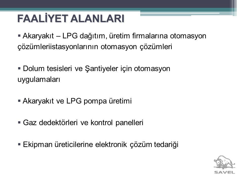 ÜRÜNLER - LPG İstasyon çözümleri Kartlı Promosyon Sistemleri Otomasyon sistemleri Gaz Dedektör Kontrol Sistemleri Gaz Dedektörü