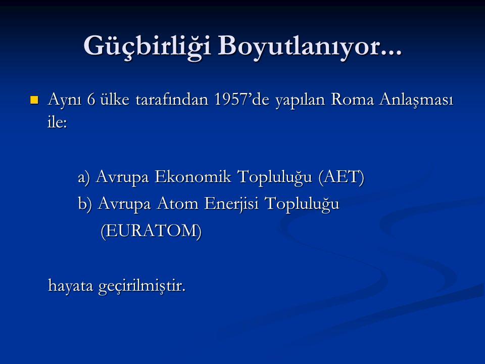 Türkiyenin ABye Katkıları (ABnin Kazanımları): Siyasi Boyutu: Bölgesinde güçlü Türkiye, istikrar unsuru Bölgesinde güçlü Türkiye, istikrar unsuru Avrupanın siyasi birlik olmasına katkı Avrupanın siyasi birlik olmasına katkı Güvenlik Boyutu: Avrupa güvenliğine destek; AB ortak savunma ve güvenlik boyutunu güçlendirme Avrupa güvenliğine destek; AB ortak savunma ve güvenlik boyutunu güçlendirme Orta Doğu ve İslam Konferansı Örgütü ülkeleri ile ilişkide olan Türkiye, ABnin dış politikasına katkı sağlar Orta Doğu ve İslam Konferansı Örgütü ülkeleri ile ilişkide olan Türkiye, ABnin dış politikasına katkı sağlar Türkiye üyelikle, AB standartlarında sınır kontrolü gerçekleştirir, böylece kaçak göç, uyuşturucu, silah kaçakçılığı ile mücadelede destek Türkiye üyelikle, AB standartlarında sınır kontrolü gerçekleştirir, böylece kaçak göç, uyuşturucu, silah kaçakçılığı ile mücadelede destek Ekonomik Boyutu: Türkiye AB için büyük pazar Türkiye AB için büyük pazar Genç nüfusu ve yetişmiş kalifiye vatandaşları ile insan kaynağı Genç nüfusu ve yetişmiş kalifiye vatandaşları ile insan kaynağı Ekonomik anlamda güçlenecek Türkiyeden ABye göç azalacak Ekonomik anlamda güçlenecek Türkiyeden ABye göç azalacak Türkiye, Avrasya enerji koridoru üzerindedir Türkiye, Avrasya enerji koridoru üzerindedir Kültürel Boyutu: Renkli kültürel değerleri ile Türkiye, kültürel kaynaşmaya önem veren ABye zenginlik katacak Renkli kültürel değerleri ile Türkiye, kültürel kaynaşmaya önem veren ABye zenginlik katacak Dünya vatandaşı yaratma fikrini güçlendirecek Dünya vatandaşı yaratma fikrini güçlendirecek