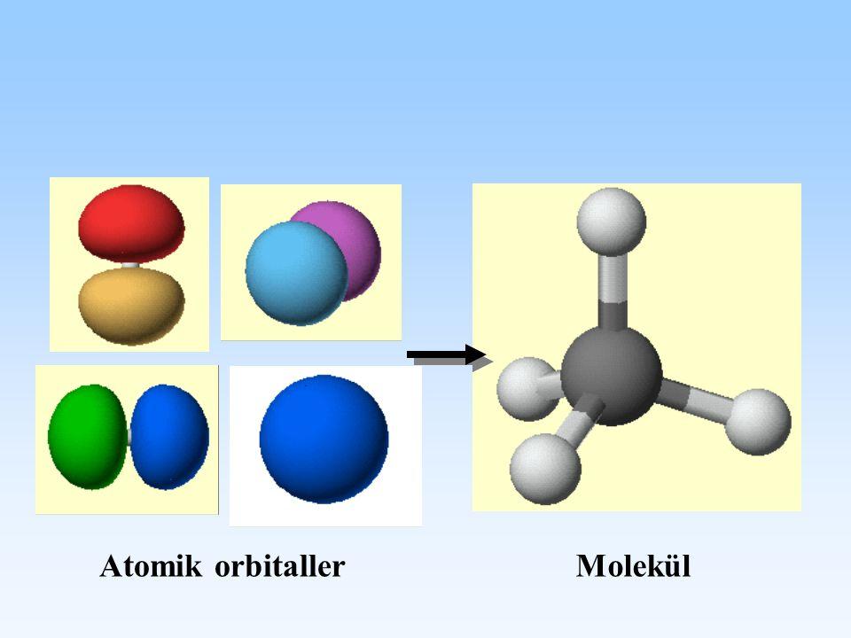 Atomik orbitallerMolekül