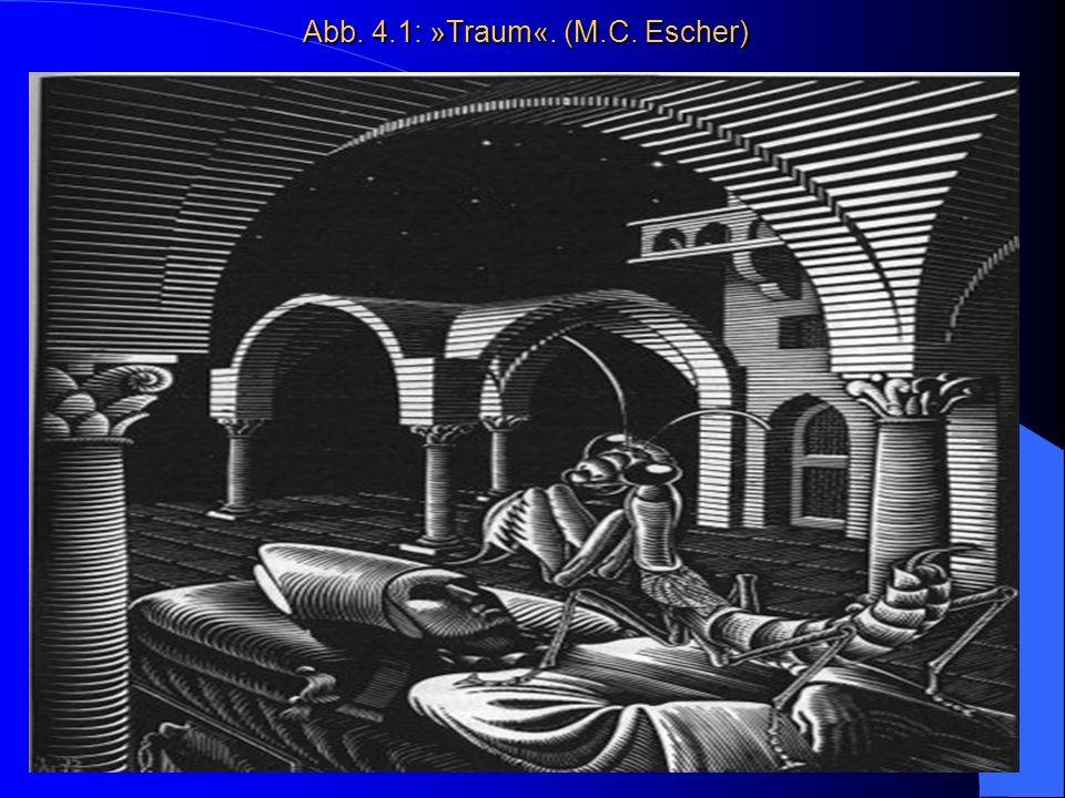 Abb. 4.1: »Traum«. (M.C. Escher) Abb. 4.1: »Traum«. (M.C. Escher)