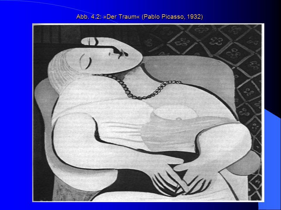 Abb. 4.2: »Der Traum« (Pablo Picasso, 1932) Abb. 4.2: »Der Traum« (Pablo Picasso, 1932)