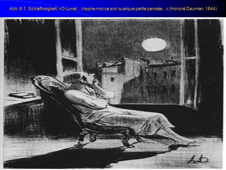 Abb. 6.1: Schlaflosigkeit. »O Lune!... Inspire-moi ce soir quelque petite pensée...« (Honoré Daumier, 1844)
