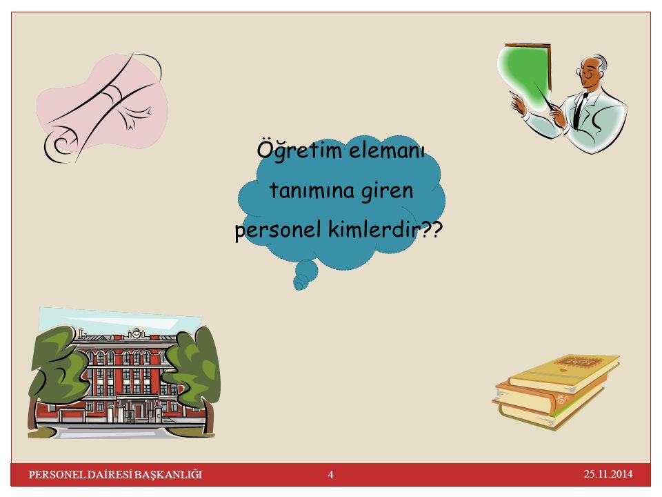 Makam Tazminatı Cetveli: Sıra No Kadro ve Görev Ünvanı Tazminat Göstergeleri 1 Rektörler7.000 2 Profesörler (3 yılını tamamlayanlar)6.000 3 Profesörler4.500 4 Doç.(kazanılmış hak aylıkları 1.der.olanlar)2.000 25.11.2014 65 PERSONEL DAİRESİ BAŞKANLIĞI Makam Tazminatı