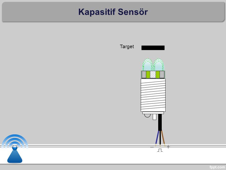 Target Kapasitif Sensör