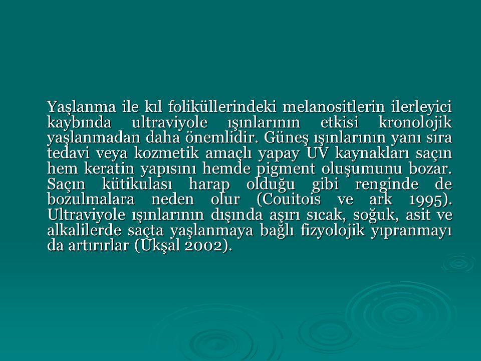 Materyal ve yöntem Araştırma Ankara, İstanbul ve İzmir'de bulunan huzur evlerinde yaşayan 65 yaş ve üzeri 523 bayan üzerinde, ülkemizdeki yaşlı popülasyonun saç ile ilgili mevcut kozmetik durumlarını tespit etmek amacıyla planlanmış ve yürütülmüştür.