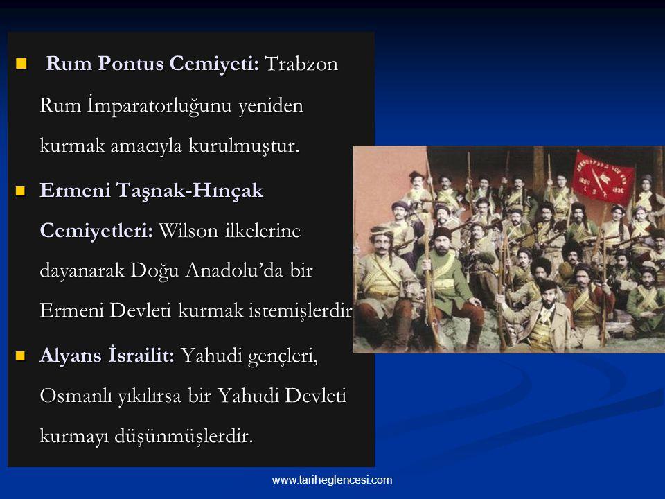 Rum Pontus Cemiyeti: Trabzon Rum İmparatorluğunu yeniden kurmak amacıyla kurulmuştur. Rum Pontus Cemiyeti: Trabzon Rum İmparatorluğunu yeniden kurmak
