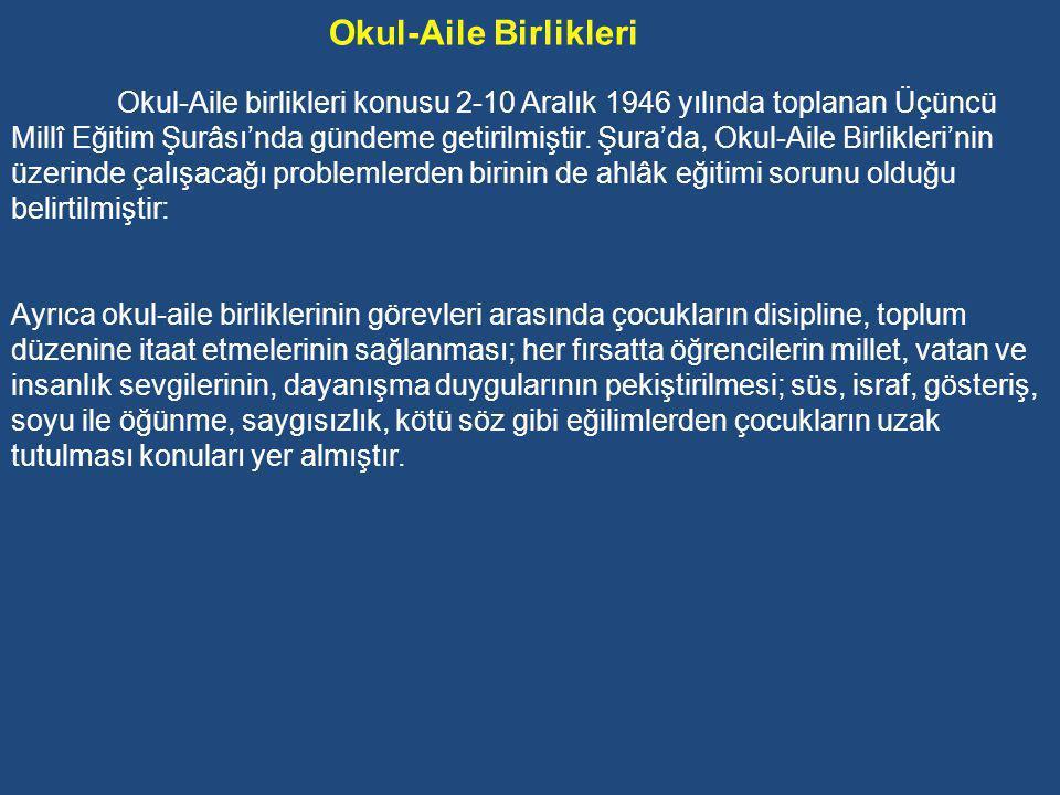 Din Eğitimine İlişkin Uygulamalar 1946 yılından itibaren Türkiye'de siyasal ve toplumsal hayatta demokrasiye geçilmesiyle din eğitimi demokratik bir hak olarak gündeme gelmiş ve tartışılmaya başlanmıştır.