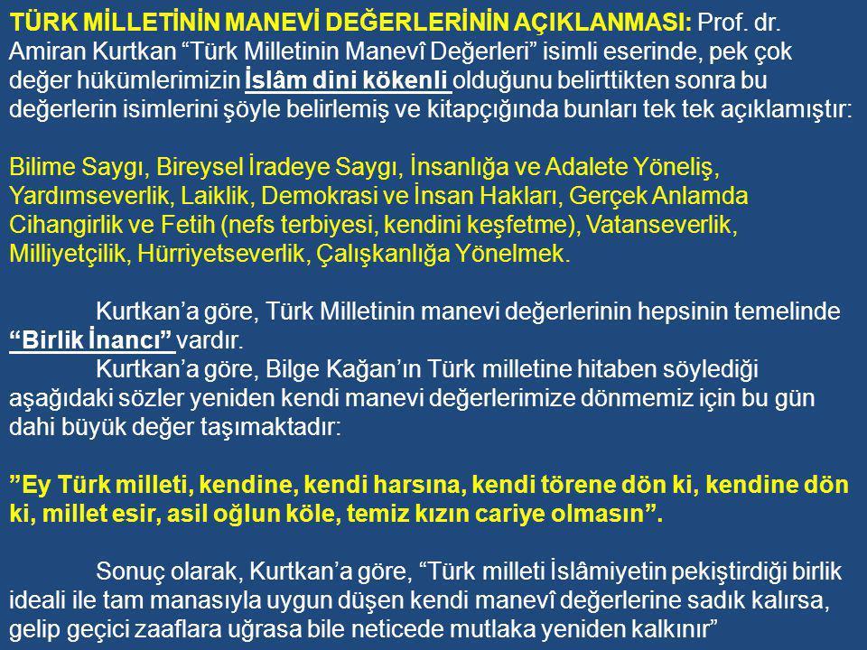 Bazı Genel Amaçların Açıklanması Bu dönemde kurulan Millîyetçi Cephe hükümetlerinin eğitimde gerçekleştirdiği en önemli uygulama 14.6.1973 tarih ve 1739 sayılı Millî Eğitim Temel Kanunu'ndaki Millî Eğitimin Genel Amaçları'nın birinci bendinde yer alan Türk Milletinin millî ve kültürel değerleri ile Türk ailesi kavramlarının ne olduğunun açıklanmasıdır.