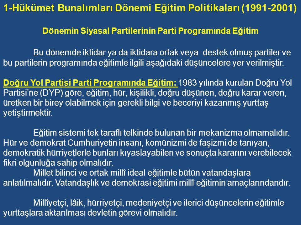 Sonuçta, 90'lı yıllarla birlikte, Türkiye'nin sınırları dışında dünyanın çeşitli yerlerinde hemen her gün bir şeyler altüst olmakta, sınırlarımız içinde de pek çok kavram ve kurumun temelleri sarsılmakta ya da yerle bir olmaktadır.