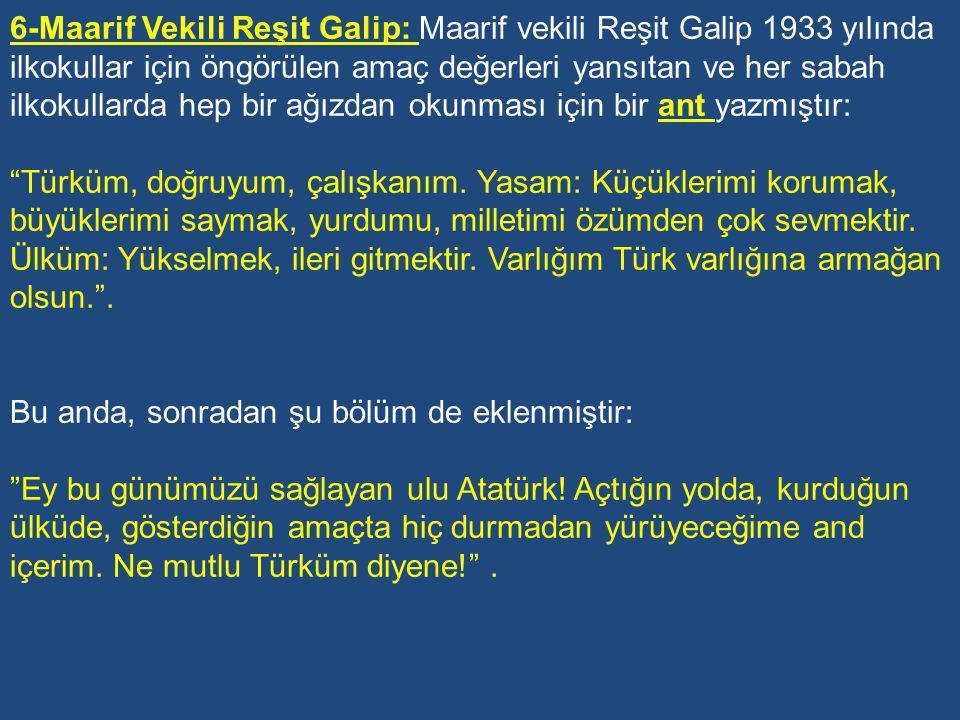 3-Maarif Vekili Mustafa Necati: Eğitimin amacı bireyi hayata hazırlamak ve sağlam bir karakter eğitimi vermektir.