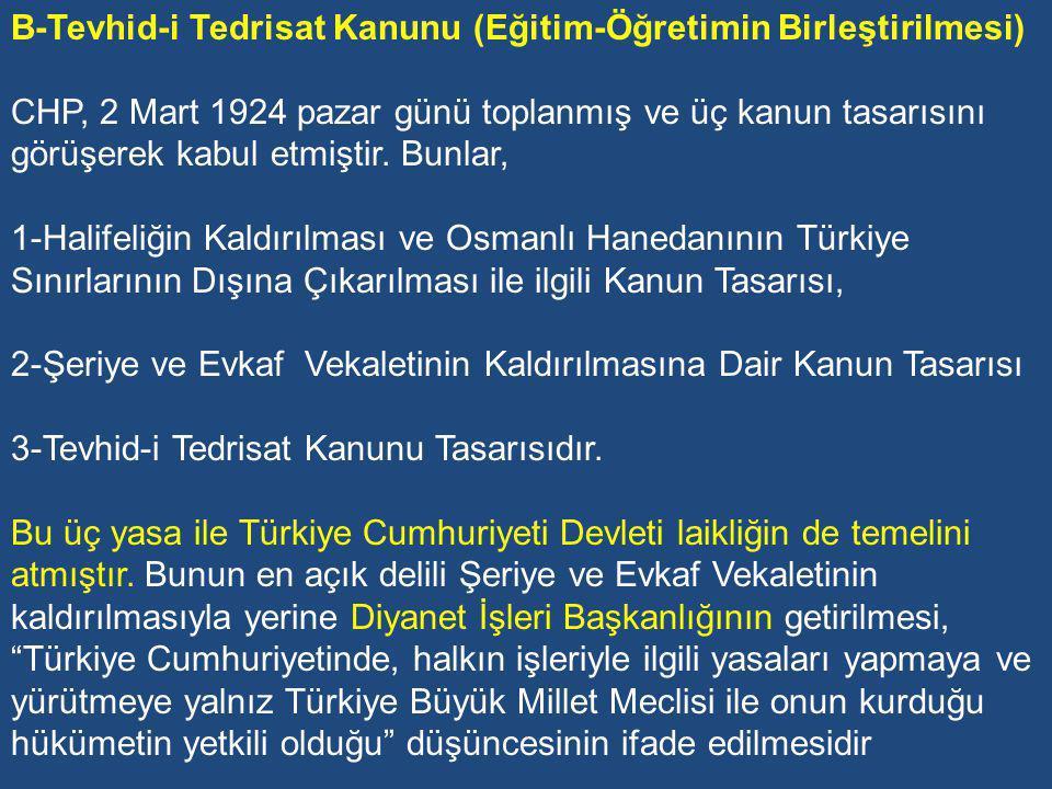 3-DEMOKRASİ ANLAYIŞI: Bu kavram, Atatürk'ün ve CHP'nin sosyal mücadelesinde halkçılık adı ile yer almıştır.