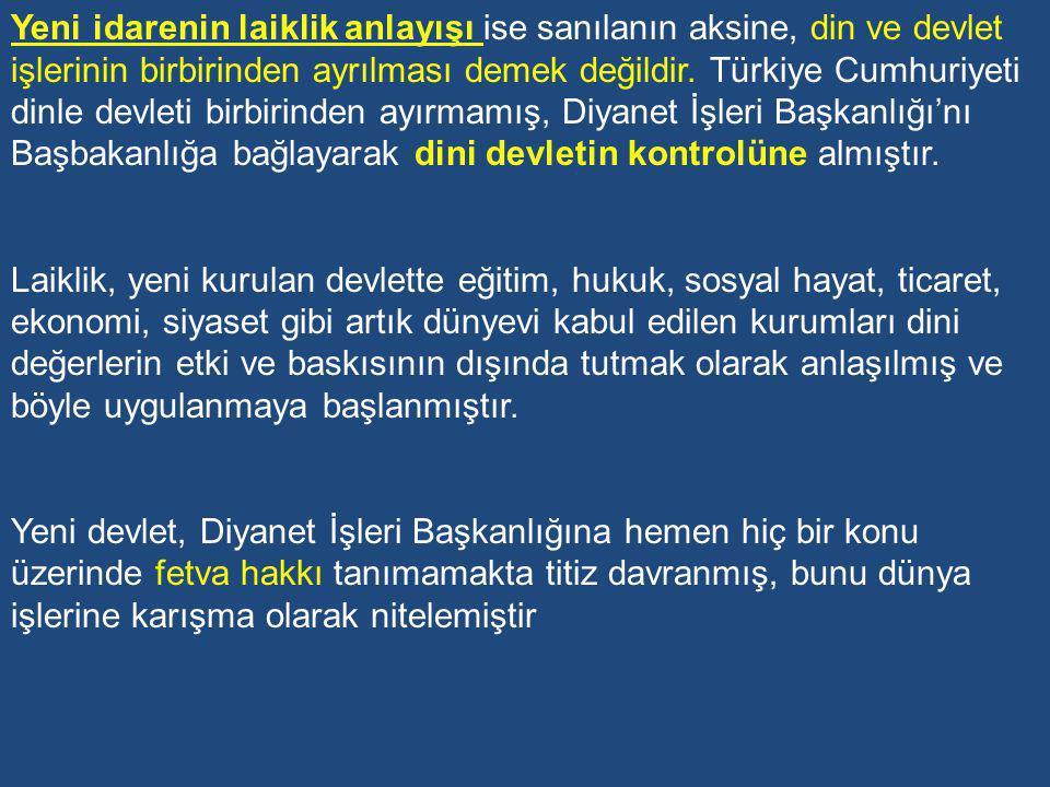 B-Tevhid-i Tedrisat Kanunu (Eğitim-Öğretimin Birleştirilmesi) CHP, 2 Mart 1924 pazar günü toplanmış ve üç kanun tasarısını görüşerek kabul etmiştir.