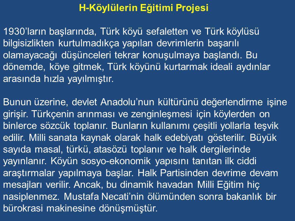 G-Karma Eğitime Geçiş Dönemin CHP Hükümetinin bir başka uygulaması da 1927-28 Öğretim yılından itibaren ilk defa karma öğretime geçmesidir.