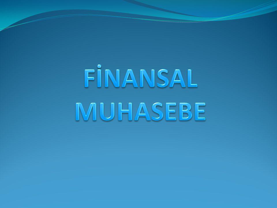 1.2 ÖZ KAYNAK ÖZ KAYNAK: İşletmenin sahip veya ortaklarına olan ve normal şartlarda ödemeyi düşünmediği borçlarını ifade eder.