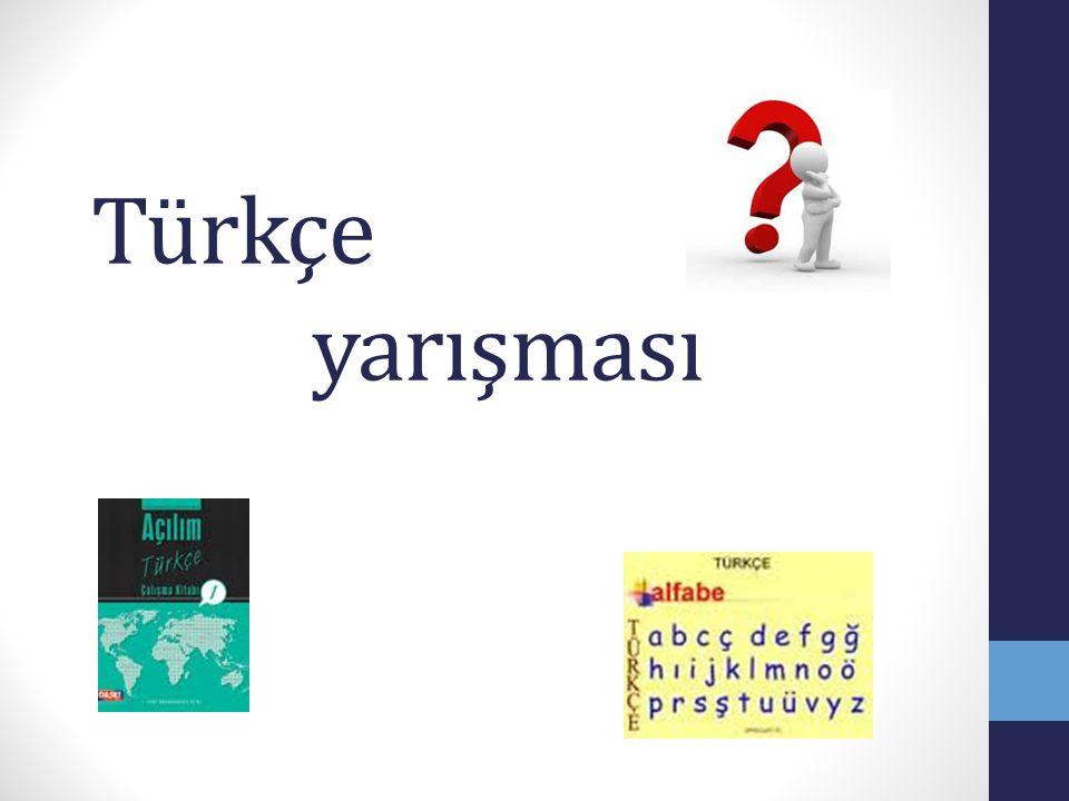 Türkçe yarışması