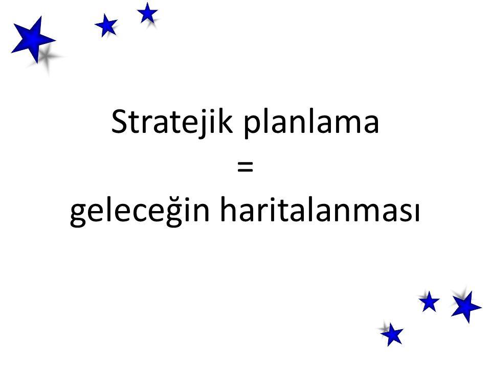 Stratejik planlama = geleceğin haritalanması