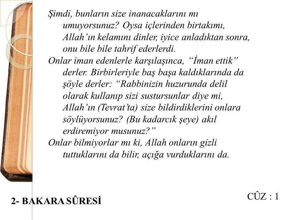 """Hani, bir kimseyi öldürmüştünüz de suçu birbirinizin üstüne atmıştınız. Hâlbuki Allah, gizlemekte olduğunuzu ortaya çıkaracaktı. """"Sığırın bir parçası"""