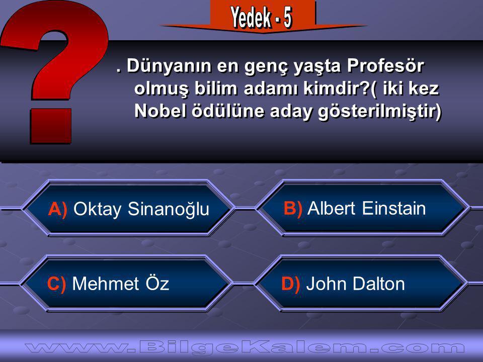 Dünyanın en genç yaşta Profesör olmuş bilim adamı kimdir?( iki kez Nobel ödülüne aday gösterilmiştir).