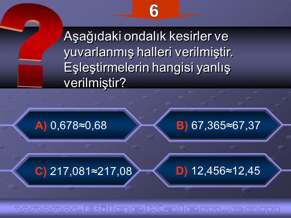Bir sayıyı 0,75'e bölmek bu sayıyı kaç ile çarpmak demektir.