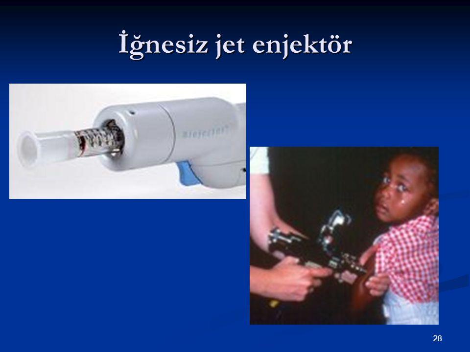 28 İğnesiz jet enjektör