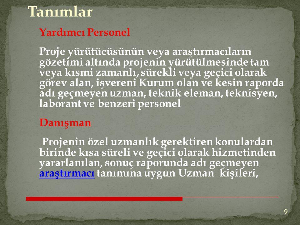 Bursiyer/Doktara sonrası bursiyer: Türkiye'de kurulu yüksek öğretim kurumlarında Lisansüstü (Yüksek Lisans ve Doktora) eğitimlerine devam etmekte olan öğrenciler veya öğrenci statüsündeki Araştırma Görevlileri bursiyer, Doktoralı olup herhangi bir kurum/işyerinde çalışmayan, 40 yaşını doldurmamış olan ve doktora/tıpta uzmanlık derecesinin alındığı tarih ile ilgili programın son başvuru tarihi arasında kalan sürenin 5 yıldan fazla olmaması koşulunu sağlayan Türkiye'de ikamet eden T.C.