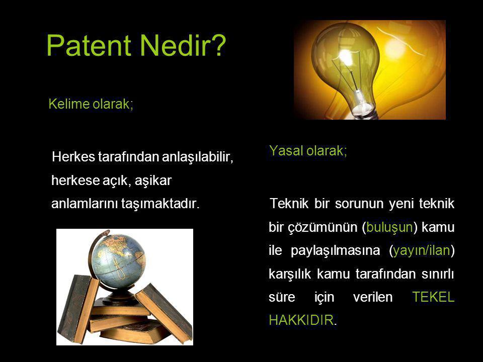 NEDEN buluşumu patent veya faydalı model olarak korumalıyım.