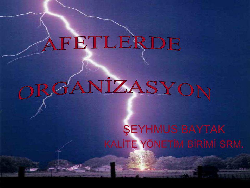 ŞEYHMUS BAYTAK KALİTE YÖNETİM BİRİMİ SRM.