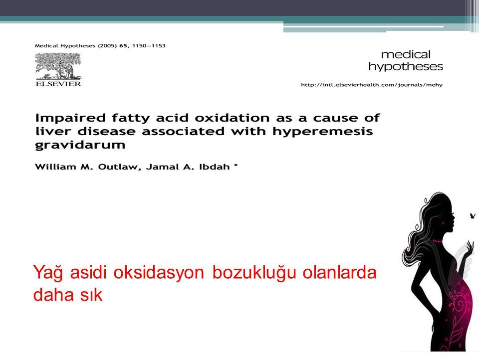 Yağ asidi oksidasyon bozukluğu olanlarda daha sık