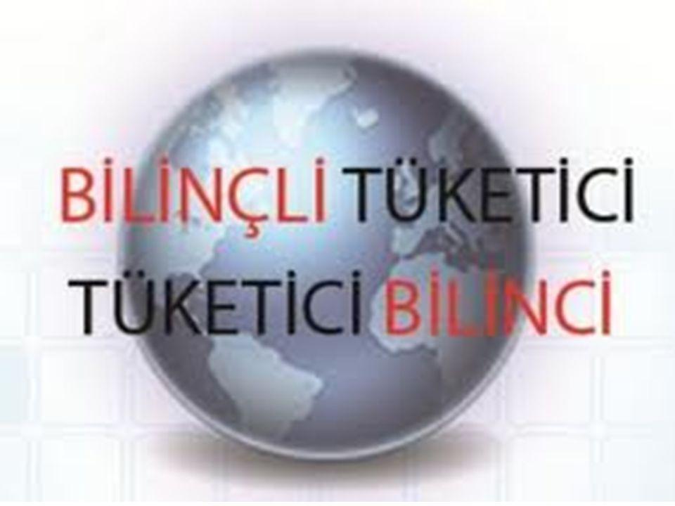 EVRENSEL TÜKETİCİ HAKLARI Tüketicilerin temel ihtiyaçlarının karşılanması hakkı Sağlık ve güvenliğin korunması hakkı Ekonomik çıkarların korunması(mal ve hizmetlerin serbestçe seçilmesi) hakkı Bilgi edinme hakkı Eğitilme hakkı Tazmin edilme(zararların karşılanması)hakkı Temsil edilme(sesini duyurma) hakkı Sağlıklı bir çevrede yaşama hakkı