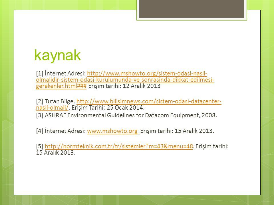 kaynak [1] İnternet Adresi: http://www.mshowto.org/sistem-odasi-nasil- olmalidir-sistem-odasi-kurulumunda-ve-sonrasinda-dikkat-edilmesi- gerekenler.ht