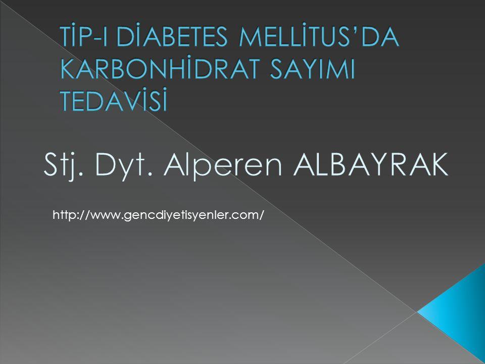  Fizyopatolojisi Mutlak insülin eksikliği vardır.