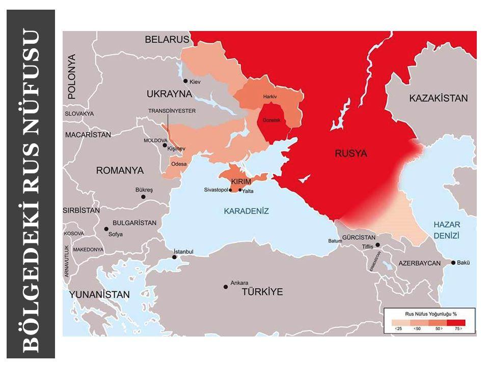 BÖLGEDEKİ RUS NÜFUSU