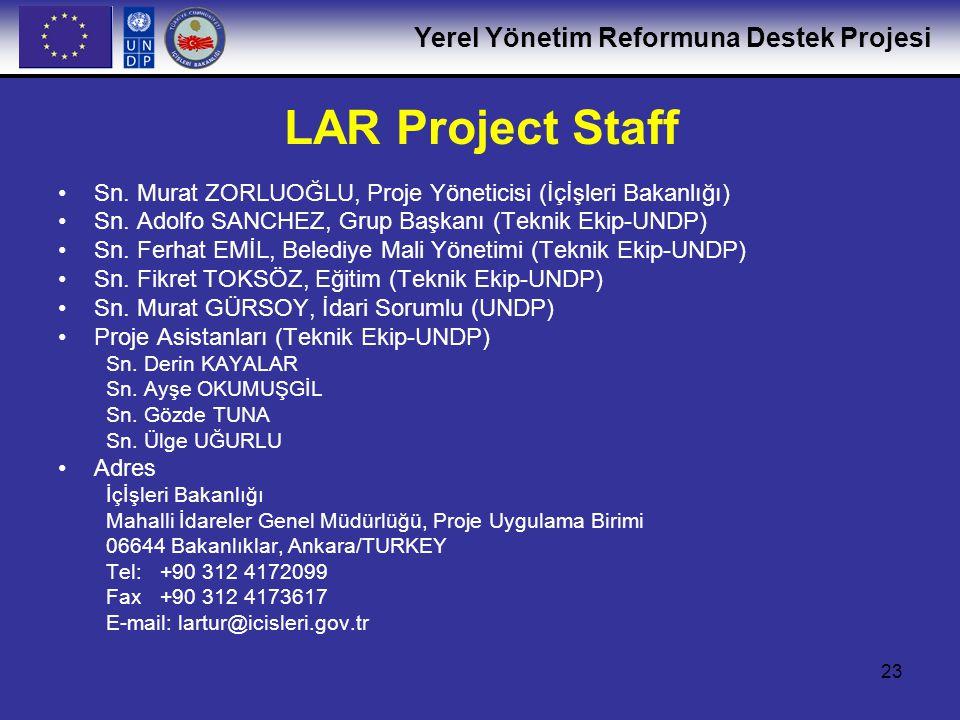 Yerel Yönetim Reformuna Destek Projesi 24 Şu an Hangi Aşamadayız Hazırlık Aşaması (Ağustos-Ekim 2005) Program hedeflerinin,sonuçların ve faaliyetlerinin gözden geçirilmesi (çalışma programı) ve bunların şu an ki durum ve şartlara gore uyarlanması Proje paydaşlarıyla temasa geçilmesi ( Proje faaliyetleriyle ilgili olarak) Program/proje yönetiminin ve eşgüdüm yapısının hazırlanması(Proje yönlendirme Komitesi,Çalışma Grupları) 1.