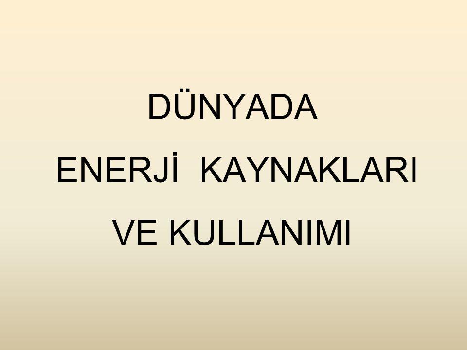 Türkiye'de Uranyum Rezervleri BölgeTenö (U 3 O 8 )Rezerv (ton) Köprübaşı% 0.04 - 0.052852 Fakılı% 0.05490 Küçükçavdar% 0.05208 Demirtepe% 0.081729 Sorgun% 0.013850 TOPLAM9129