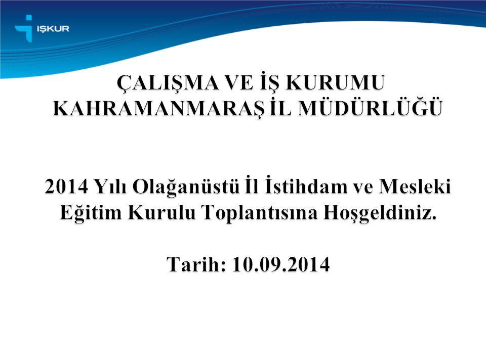 TOPLANTI GÜNDEMİ 2 Açılış 2014 Yılında ilimize aktarılan Toplum Yararına Programı (TYP) ödeneğinin değerlendirilmesi Kurul Üyelerinin Görüş ve Önerileri Kapanış