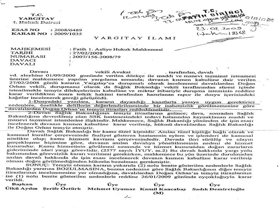 19 Mart 2011-Tıp Hukuku