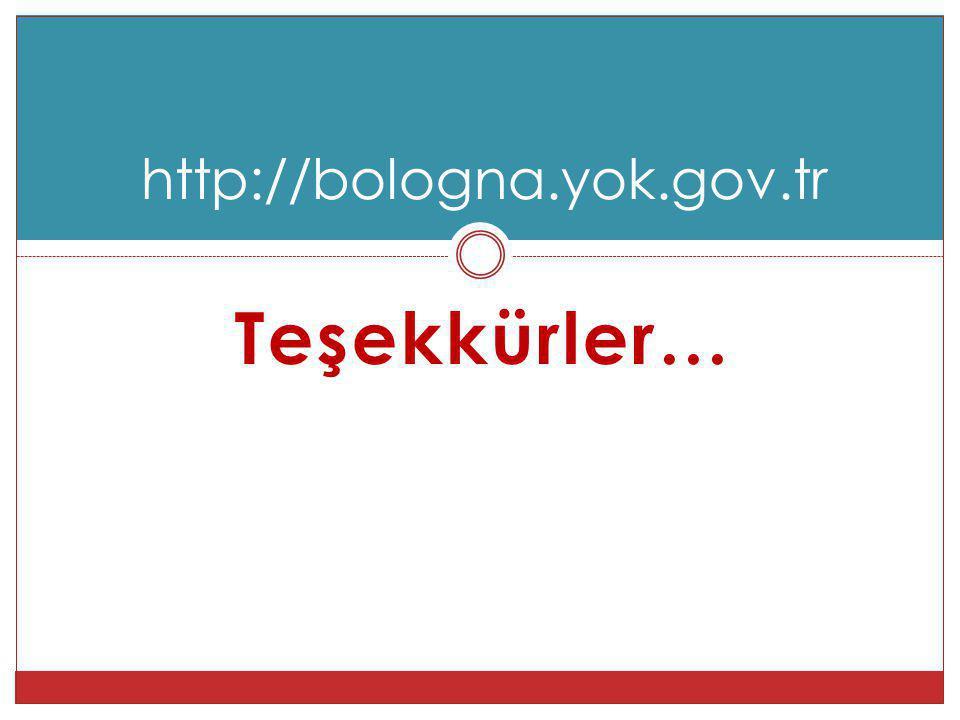 Teşekkürler… http://bologna.yok.gov.tr