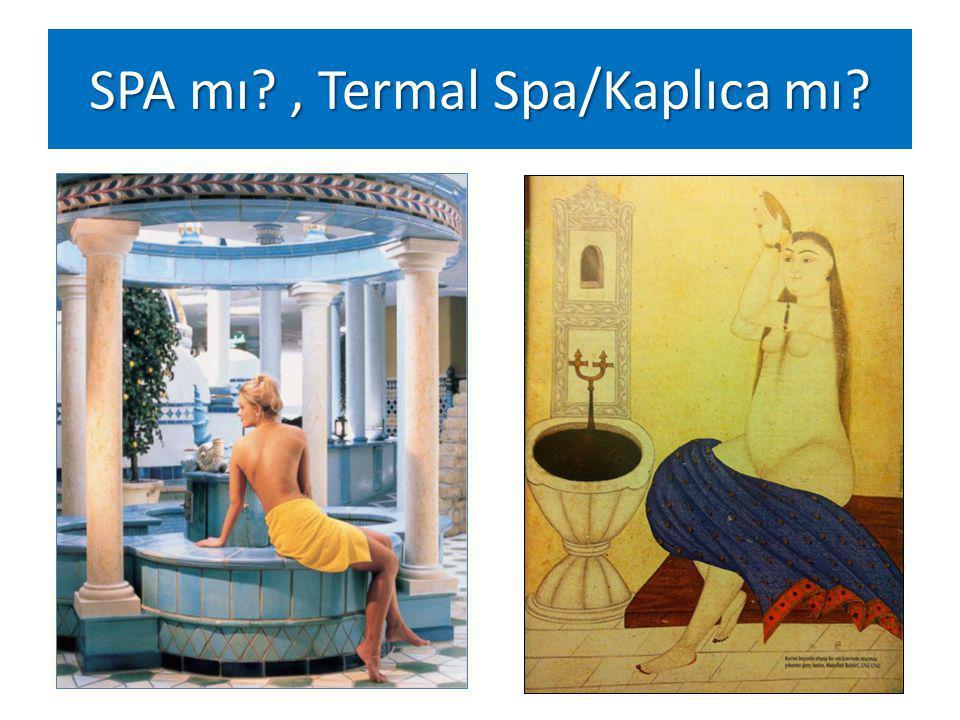 SPA mı?, Termal Spa/Kaplıca mı?
