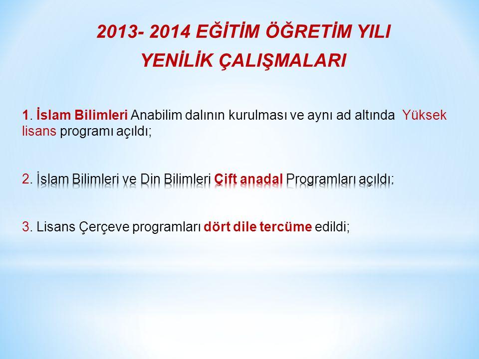 2013-2014 eğitim öğretim yılı sonu itibariyle 10 kız ve 7 erkek olmak üzere toplam 17 öğrencimizi Türkiye'ye yaz kurslarına gönderiyoruz.