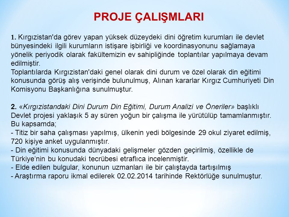 ÖĞRETİM ELEMANLARI Din Bilimleri Bölümü İslam Bilimleri Bölümü TZYZDSÜTZYZDSÜ Prof.