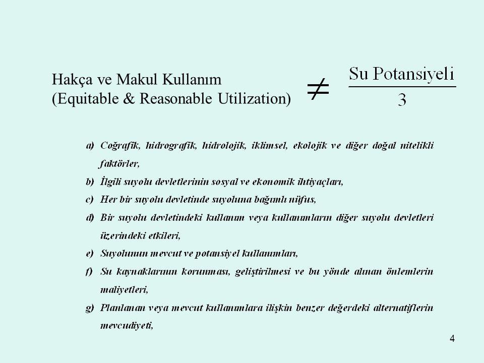 4 Hakça ve Makul Kullanım (Equitable & Reasonable Utilization)