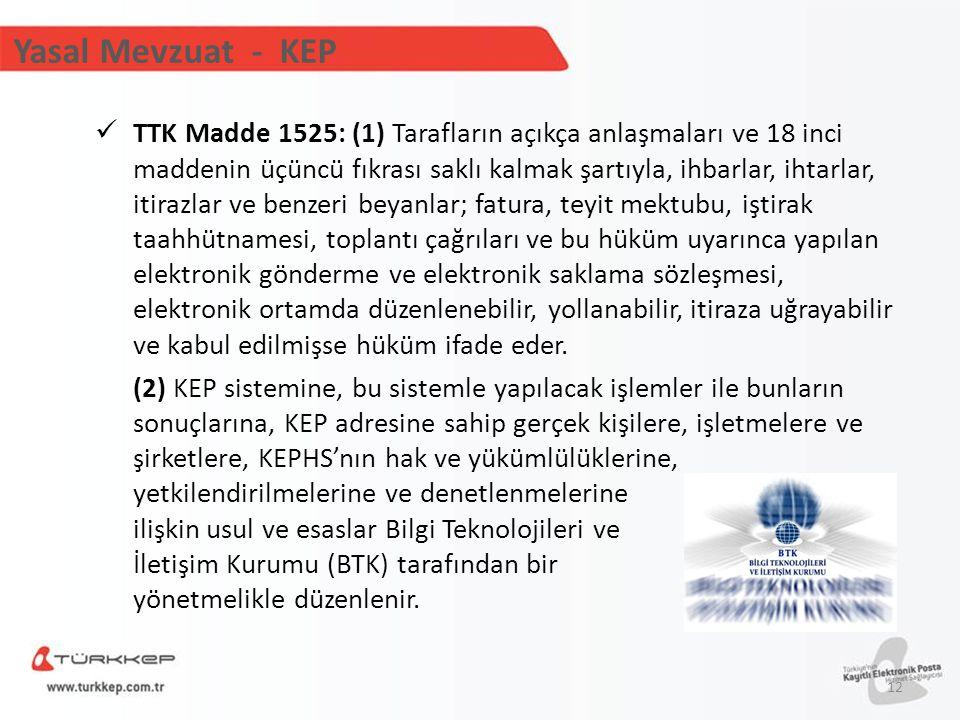TTK Madde 1525: (1) Tarafların açıkça anlaşmaları ve 18 inci maddenin üçüncü fıkrası saklı kalmak şartıyla, ihbarlar, ihtarlar, itirazlar ve benzeri b