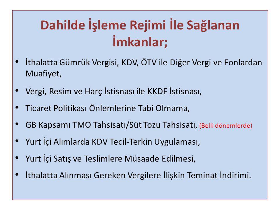 DİİB SÜRESİ NE ZAMAN BAŞLAR/BİTER.