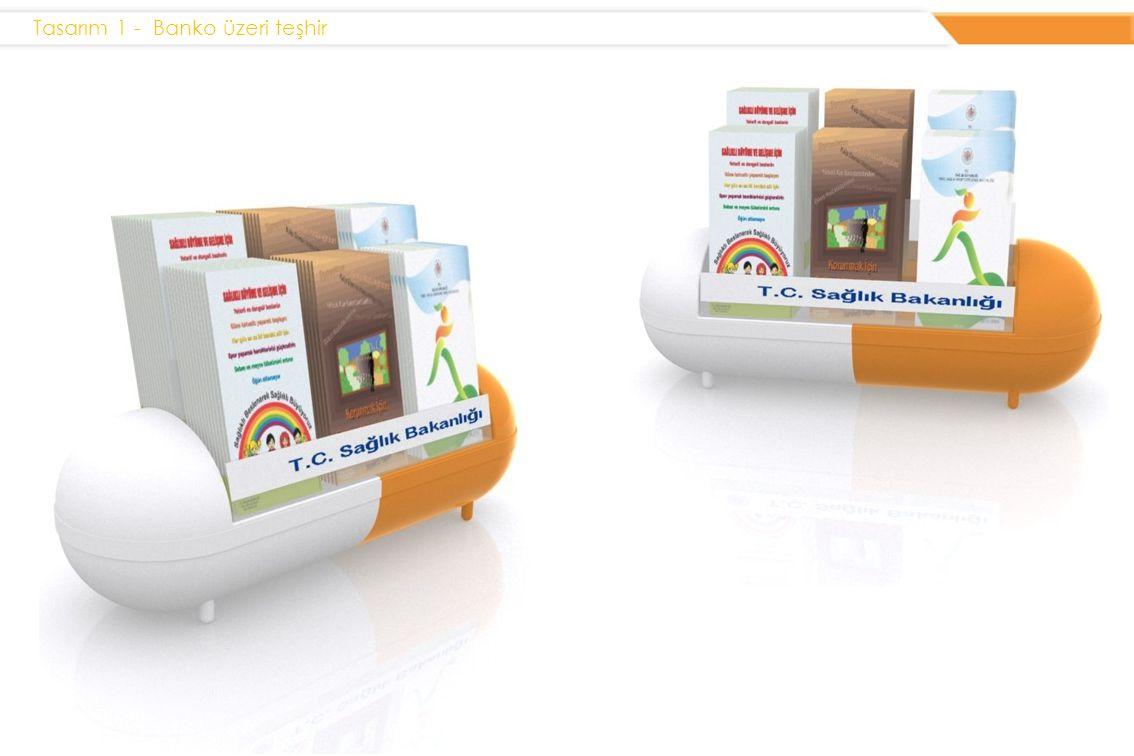 Tasarım 1 - Banko üzeri teşhir