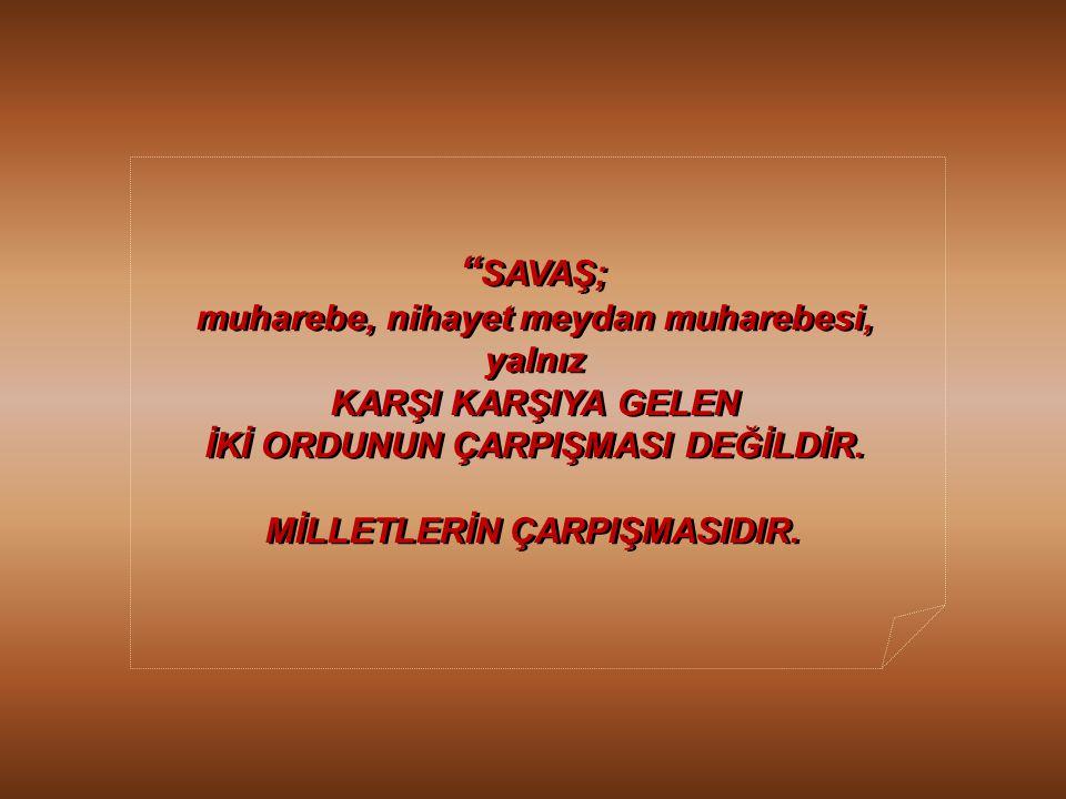 Diğer taraftan, BÜYÜK ÖNDERİMİZ Mustafa Kemal ATATÜRK, Diğer taraftan, BÜYÜK ÖNDERİMİZ Mustafa Kemal ATATÜRK, bu kutsal görevin bir başka boyutuna, aş