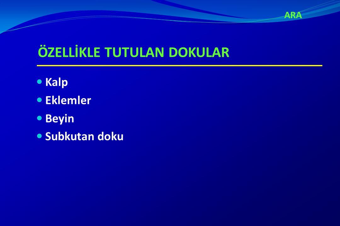 ETYOLOJİ A GRUBU BETA HEMOLİTİK STREPTOKOKLAR (M1,3,5,6,18,19,24 serotipleri) ARA