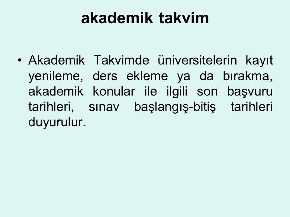 DERS ALMA KURALLARI -1 (7) (Değişik : 28.09.2013/28779 RG) Bir eğitim-öğretim yılında lisans programlarında her yarıyıl için ders ve uygulama kredisi 30 AKTS'dir.