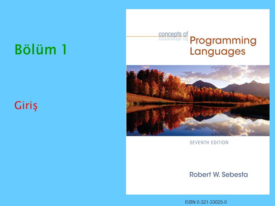 ISBN 0-321-33025-0 Bölüm 1 Giriş